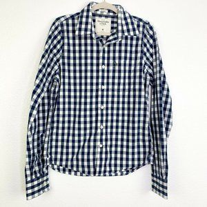 Abercrombie & Fitch Mens Med Muscle Gingham Shirt